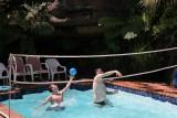 Pool Volley Ball on Christmas Day 2