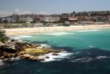 Bondi Beach  and rock platform