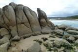 Granite Tors on the Beach