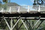 McKillops Bridge -Sue at the railings