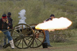 Civil War Re-enactment at Picacho Peak