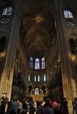 Cathédrale Notre Dame de Paris - Inside