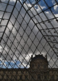 Musee du Louvre - Through the Pyramid