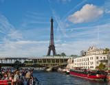 Cruising the Seine - Eiffel Tower