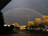 Rainbow outside a mall #2