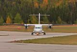 ATR 42-300 at La Ronge, SK