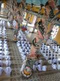 Religion présente presque uniquement au Vietnam
