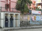 Toilettes indiennes publiques
