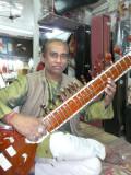 Professeur de sitar de Véronique