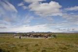 Vista behind Gullfoss