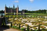 Well manicured gardens