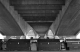 Beneath Waterloo bridge