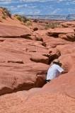 Entering  Lower Antelope Canyon