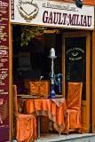 Colorful Latin Quarter restaurant
