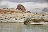 Different rock strata