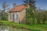 Small canal house