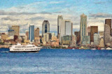 Seattle painting