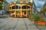 Carousel in Lyon