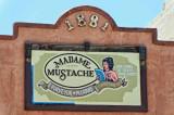 Madame Mustache, Tombstone