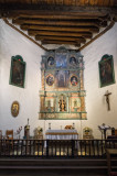 Inside San Miguel Church, Santa Fe