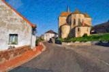 Small church in Burgundy