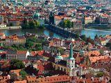 Prague above