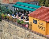 Outdoor cafe (Mala Strana)