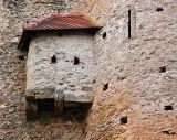 Castle Wolfsegg outhouse
