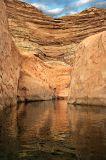 Narrow side canyon