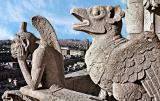 Gargoyles and Sacré-Coeur