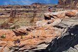 Hiking on the rocks