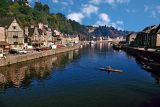 On the river in Dinan, 1970