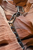 Lower Antelope Canyon - The way down