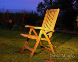 Jun 9: Chair by torchlight