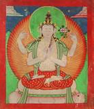 Avalokiteshvara - Chaturbhuja (4 hands)