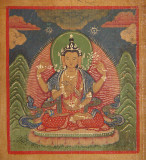 Prajnaparamita - Yellow (4 hands)   ¯ëY¦ò¥À