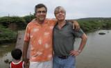 My good friend Dr.C.J.Brenkman,famous ENT surgeon visits Curacao