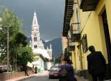 dark sky over bogota