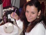 Mata Ortiz Pottery in the process......