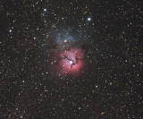 M20 - The Trifid Nebula 21-Apr-2009