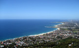 view of Wollongong Beaches