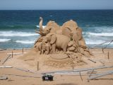 Sand Sculpture - Palm Beach NSW