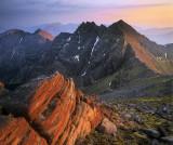 Sunset An Teallach Ridge