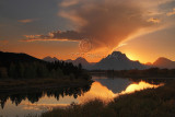 Oxbow Bend Sunsets - Fall 2008