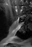 Sol Duc Falls - Black & White