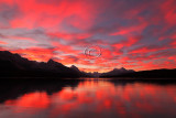 Maligne Lake  Sunrise - October 2010