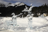 Lake Louise Ice Sculptures 2008