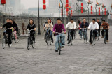 Bicycling the Outer Wall at Xian