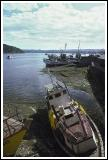 Boats Stranded by the Tide