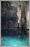 Dzitnup (X'keken) Cenote, Tree Roots and Stalactites